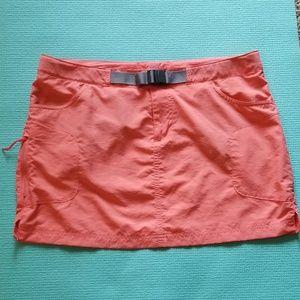Coral Columbia Omni-wick Mini Skirt Women's 10